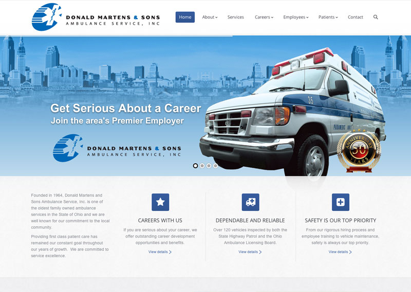 Donald Martens and Sons Ambulance Service